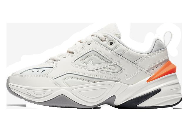 Nike M2K Tekno White Crimson Womens AO3108-001