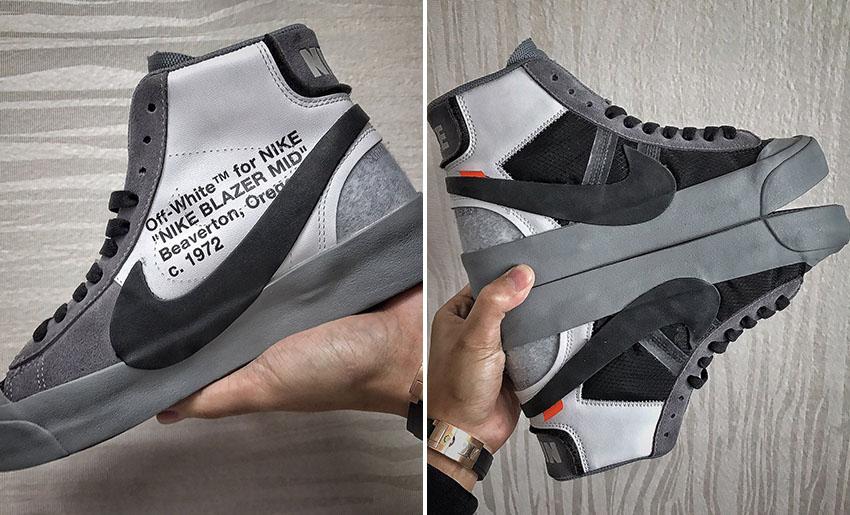 Off White x Nike Blazer Mid V2 To