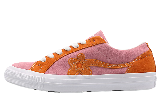 Converse x Golf Le Fleur One Star Pink Orange 162125C