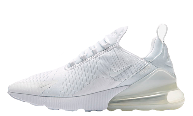 nike air max 270s all white off 62