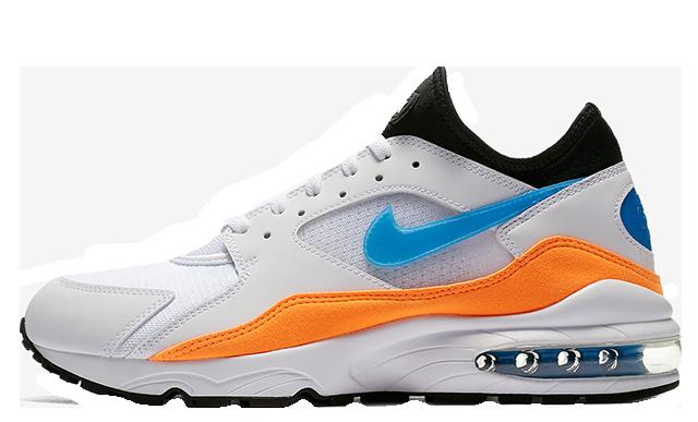 Nike Air Max 93 Blue Nebula Orange 306551-104