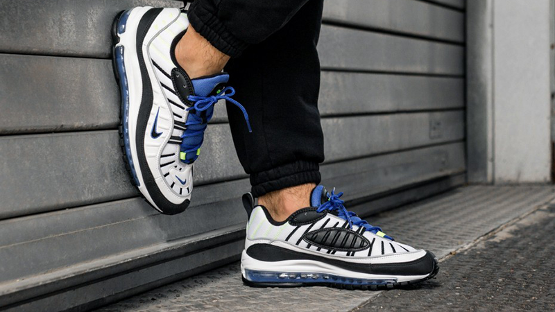 Nike Air Max 98 Racer Blue Where To Buy 640744 103 The Sole