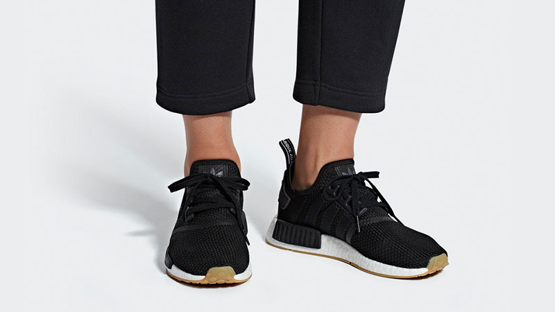 Adidas Nmd R1 Black Gum Where To Buy B42200 The Sole Supplier