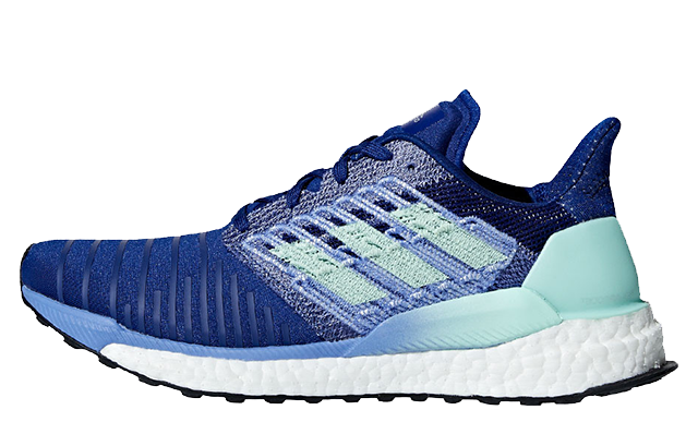 adidas Solar Boost Blue Womens