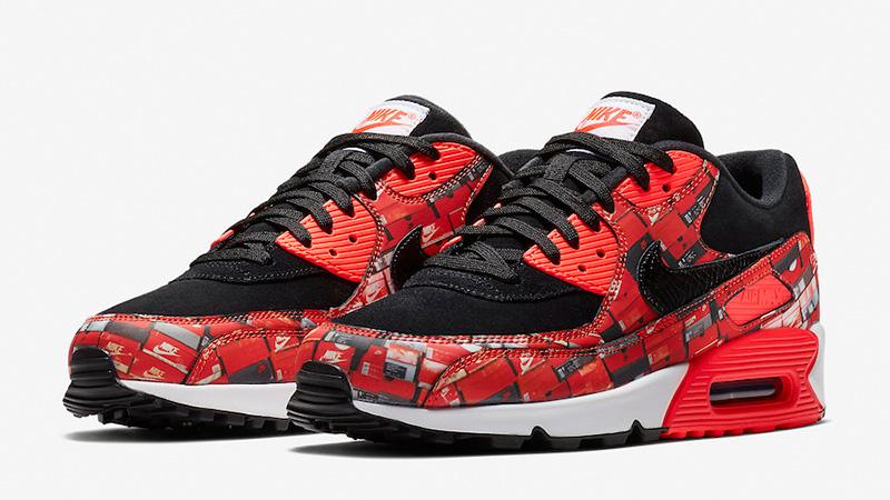 atmos x Nike Air Max 90 Print We Love Nike