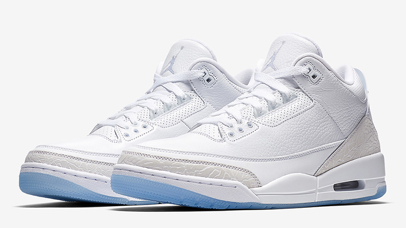 Jordan 3 Pure White | Where To Buy