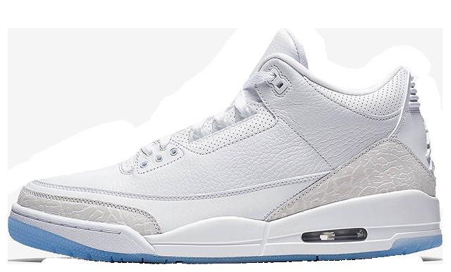 Jordan 3 Pure White 136064-111