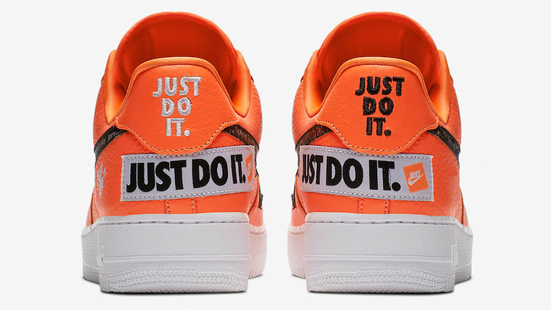 Nike Air Force 1 07 Just Do It Pack Orange