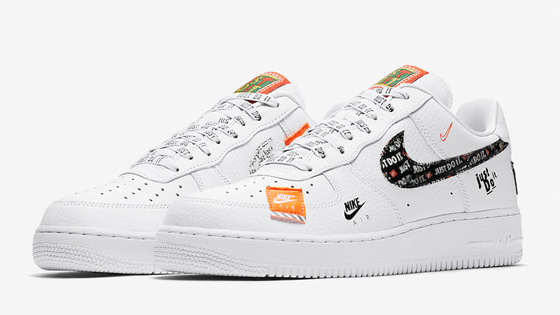 air force 1 just do it bianche