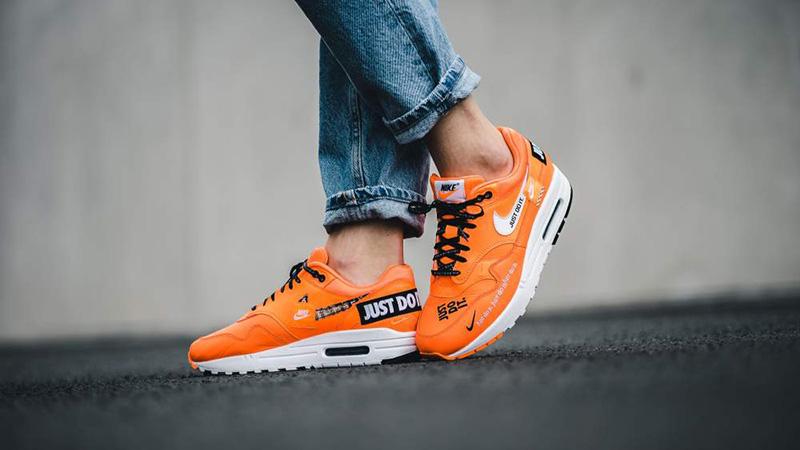 nike air max 1 lx just do it orange