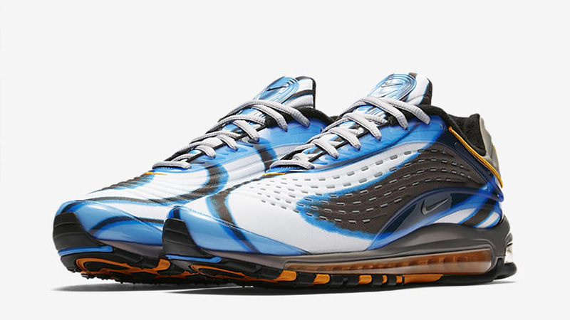 vacunación Inquieto Prueba de Derbeville  Nike Air Max Deluxe Blue Black - Where To Buy - AJ7831-401 | The Sole  Supplier