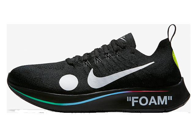 Off-White x Nike Zoom Fly Mercurial Flyknit Black AO2115-001