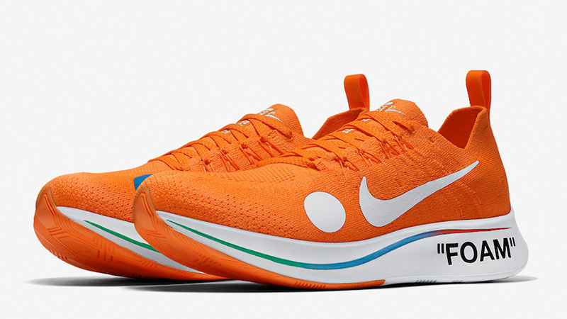 Sensible siga adelante Casarse  Off-White x Nike Zoom Fly Mercurial Flyknit Orange | Where To Buy |  AO2115-800 | The Sole Supplier