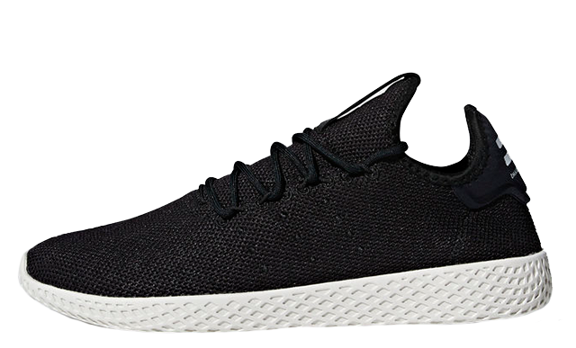 Pharrell x adidas Tennis Hu Black White AQ1056