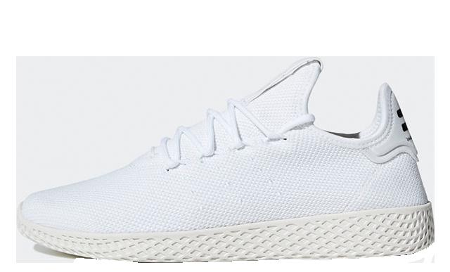 Pharrell x adidas Tennis Hu White B41792