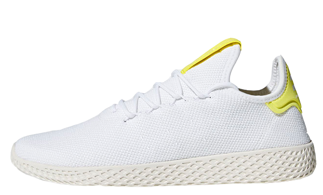 Pharrell x adidas Tennis Hu White Yellow B41806