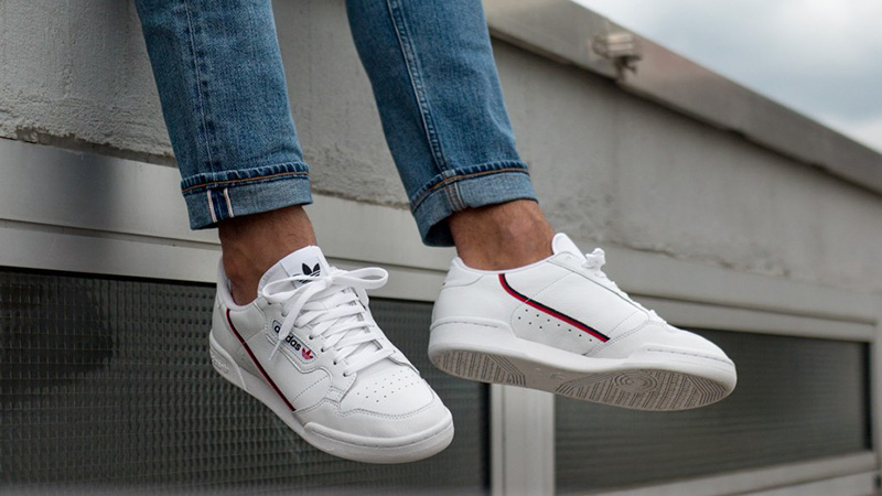 adidas continental 80 white shoes