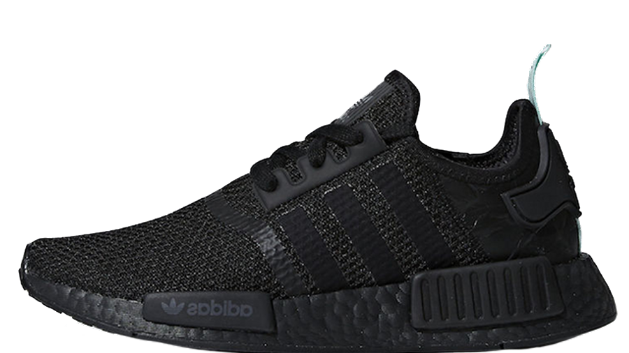 adidas NMD R1 Black Mint Womens | Where To Buy | AQ1102 | The Sole ...