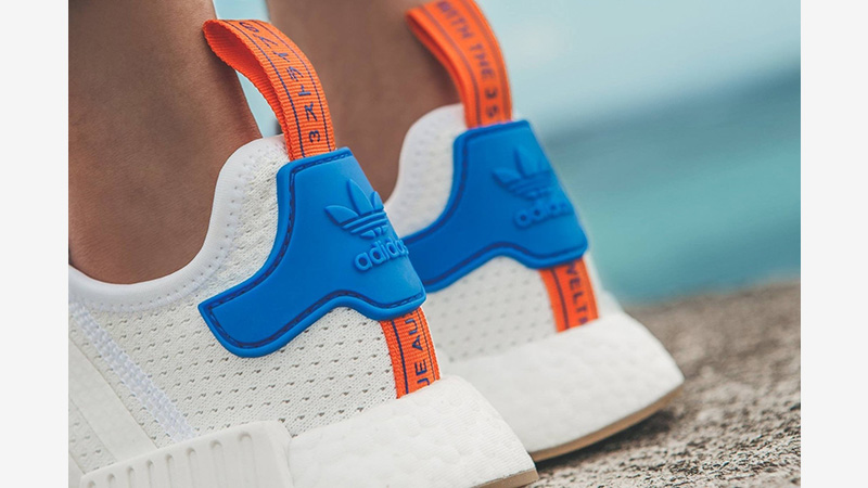 Adidas Nmd R1 Boost White Blue Gum Where To Buy Bb9498 The