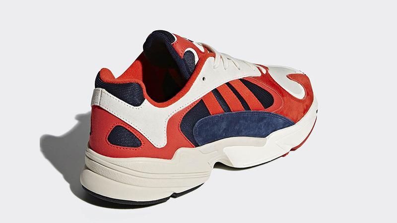adidas yung 1 rouge et bleu