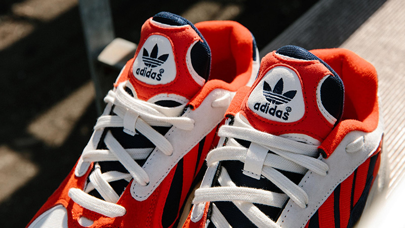 adidas Yung 1 Red Blue