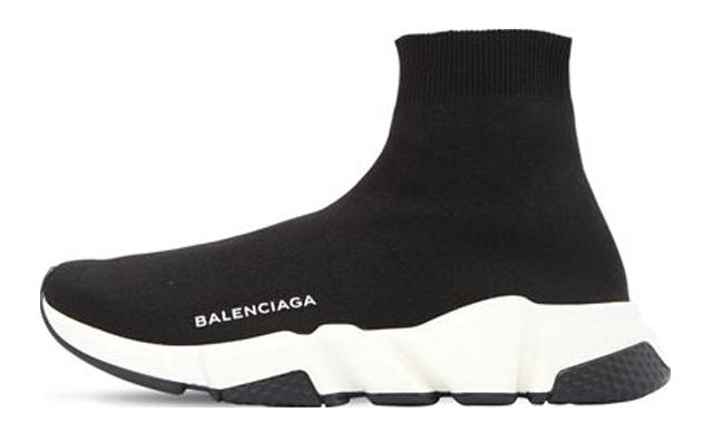 Balenciaga Speed Knit Black White