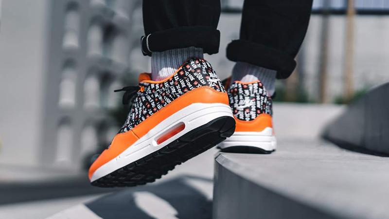 Nike Air max 1 Premium Orange 875844 008