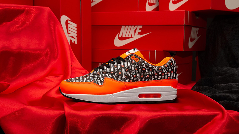 nike air max 1 just do it pack orange