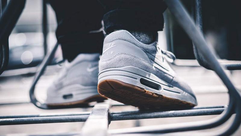 Nike Air Max 1 Premium Grey Gum | Where