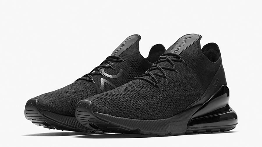 Obligar Matemático Tiranía  Nike Air Max 270 Flyknit Black | Where To Buy | AO1023-005 | The Sole  Supplier