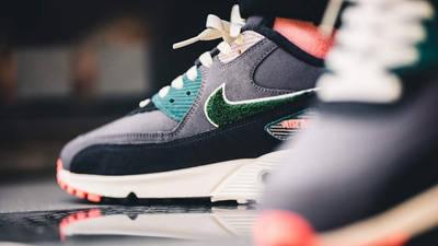 Nike Air Max 90 Premium SE Grey Multi | Where To Buy | 858954-002 ...