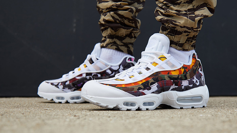 Nike Air Max 95 ERDL Party White Multi