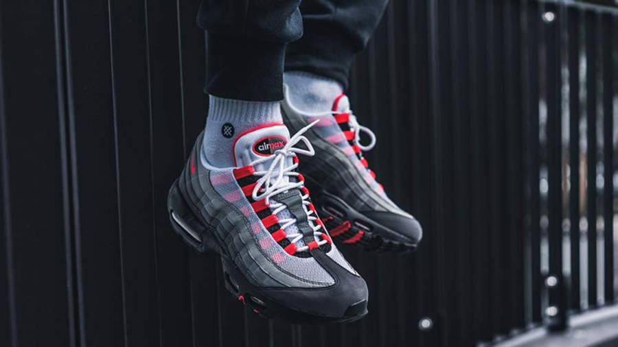 Nike Air Max 95 Solar Red | Where To Buy | AT2865-100 | The Sole ...