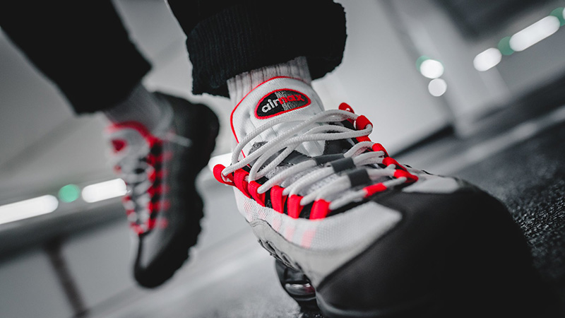 Nike Air Max 95 Solar Red Where To Buy At2865 100 The Sole