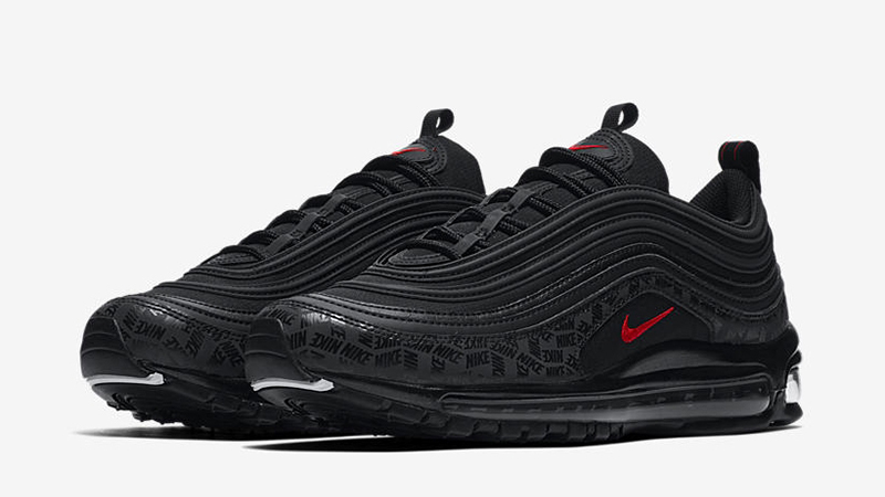 Nike Air Max 97 Reflective Logos Black