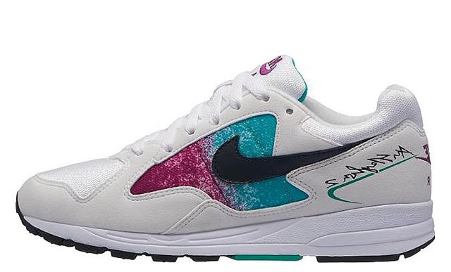 Nike Air Skylon 2 White Blue Womens AO4540-100
