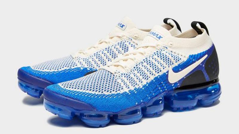 Nike Air VaporMax Flyknit 2 Cream Blue