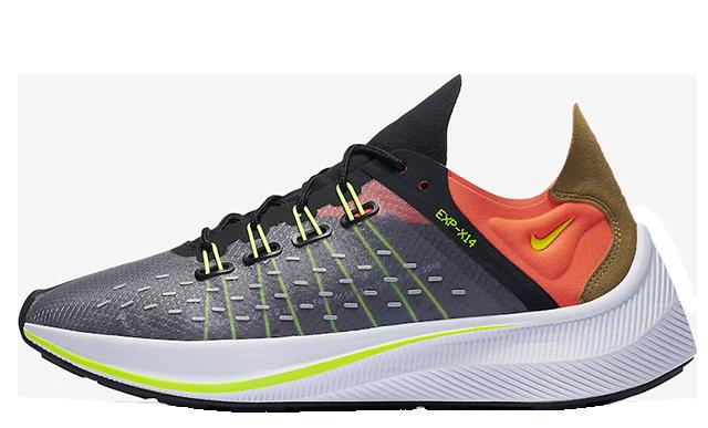 Nike EXP-X14 Black Volt AO1554-001