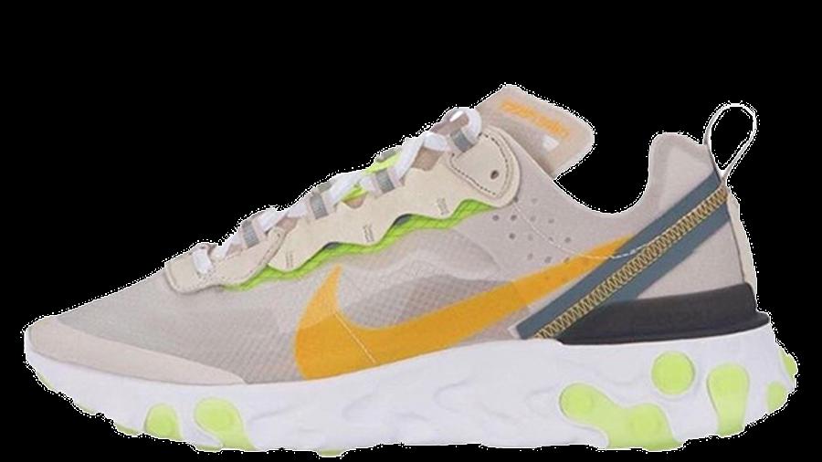 Nike React Element 87 Light Bone