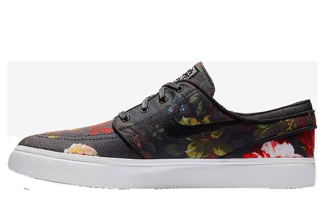 Nike SB Stefan Janoski Floral Black