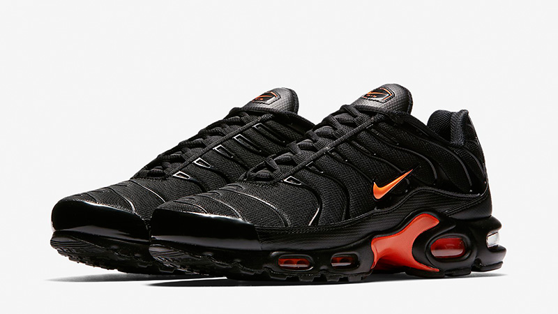 Nike TN Air Max Plus Black Orange