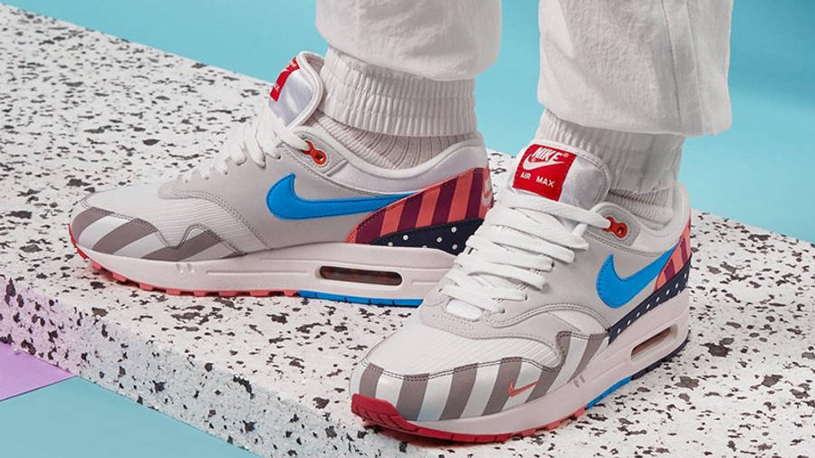 Parra x Nike Air Max 1 White Multi | Where To Buy | AT3057-100 ...