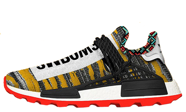 Pharrell x adidas Afro NMD Hu Pack Black Multi BB9527
