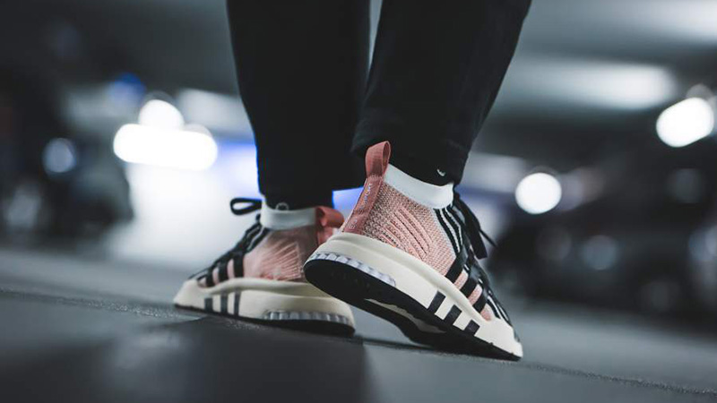 adidas EQT Support Mid Adv Black Pink