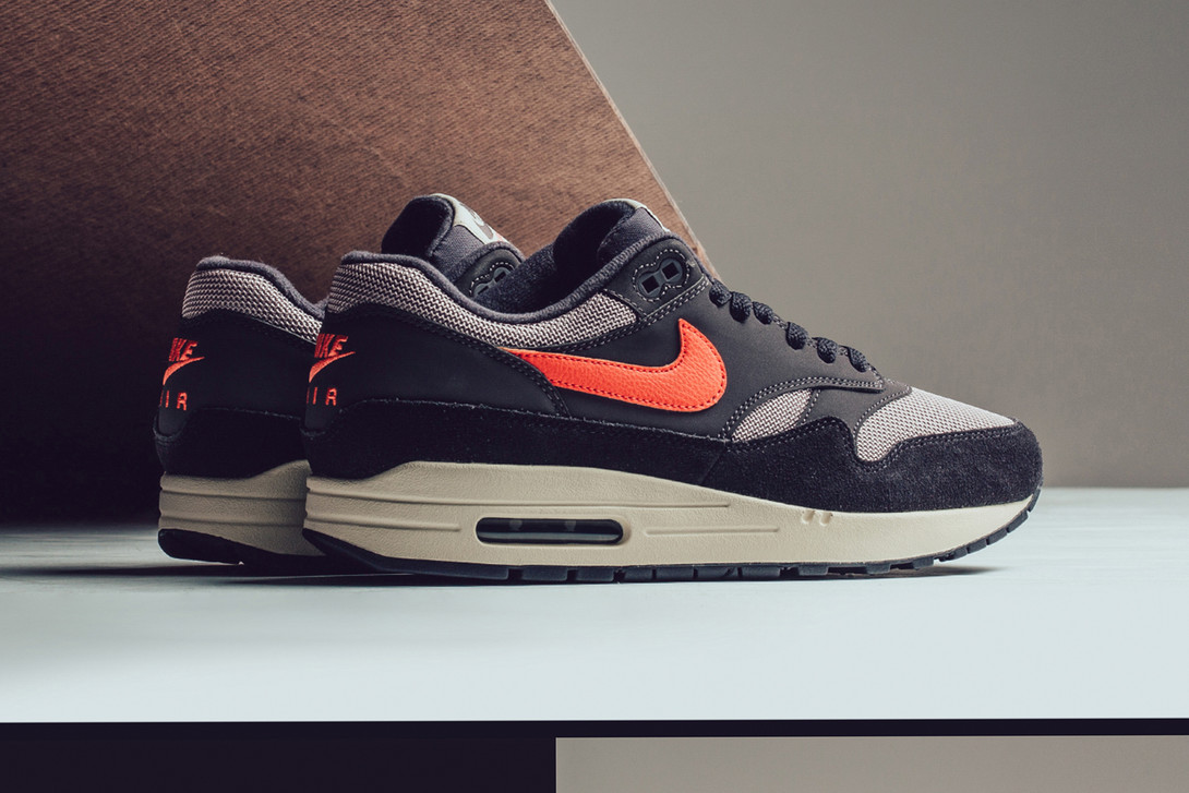 Nike Gives The Air Max 1 An Oil Grey And Wild Mango Makeover