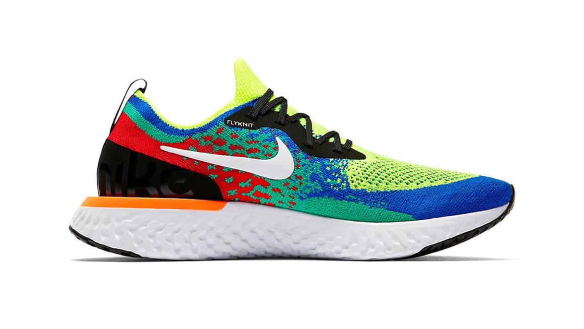 The Nike Epic React Flyknit 'Belgium