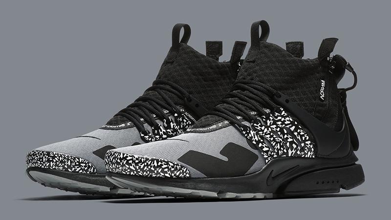 ACRONYM x Nike Air Presto Mid Grey