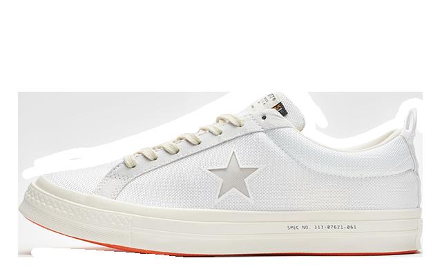 Carhartt x Converse One Star WIP White 162821c