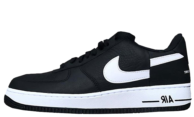 Supreme x Comme des Garcons x Nike Air Force 1 Low Black