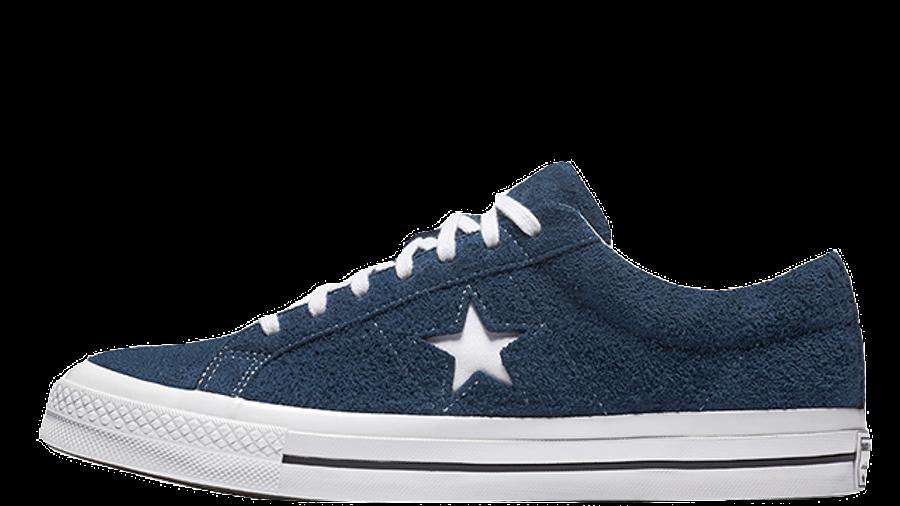 Converse One Star Premium Suede Navy